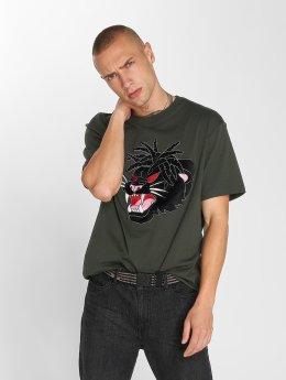 Dangerous I AM T-shirts Tengu  grøn