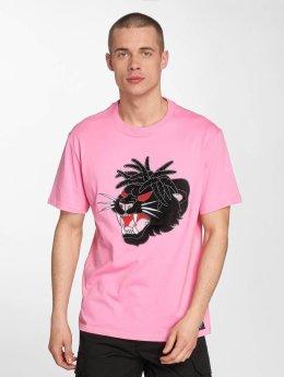 Dangerous I AM T-skjorter Tengu lyserosa