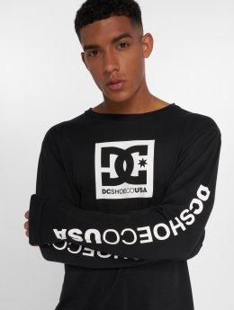 DC Camiseta de manga larga Square Star negro