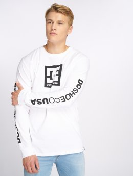 DC Longsleeve Square Star wit