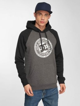 DC Sweat capuche Circle Star Ph noir