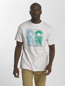 DC T-paidat Sunset Palms valkoinen