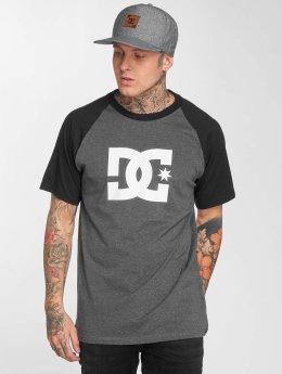 DC T-Shirt Star Raglan schwarz