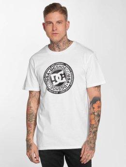 DC t-shirt Circle Star wit