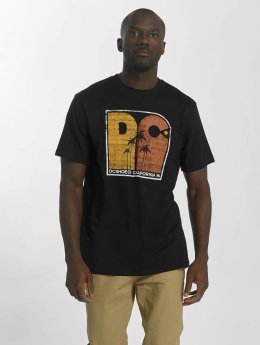 DC t-shirt Sunset Palms zwart