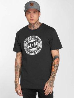 DC T-Shirty Circle Star czarny