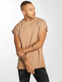 De Ferro T-Shirt Bat Sleeve braun