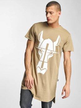 De Ferro T-shirt longoversize Streets Long Oversize beige