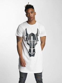 De Ferro T-shirt longoversize Streets Long Oversize blanc