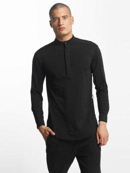 De Ferro T-Shirt manches longues Big Logo noir
