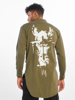 De Ferro T-Shirt manches longues Big Logo olive