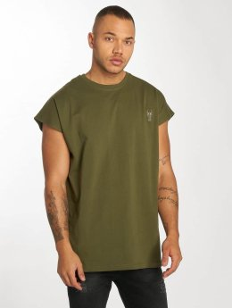 De Ferro T-Shirt Bat Sleeve olive