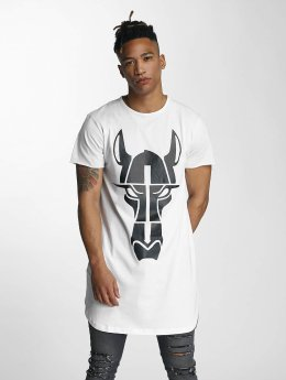 De Ferro Tall Tees Streets Long Oversize wit