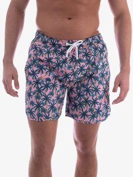 DEDICATED Kúpacie šortky Swim Shorts pink