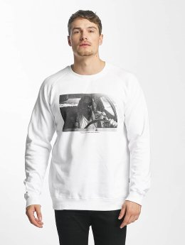 DEDICATED Pullover Car Crash white