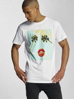 DEDICATED T-paidat Palm valkoinen