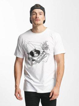 DEDICATED T-shirt Coffee Vinyl bianco