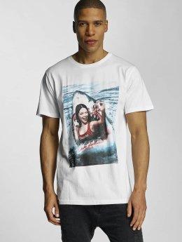 DEDICATED T-Shirt Selfie blanc