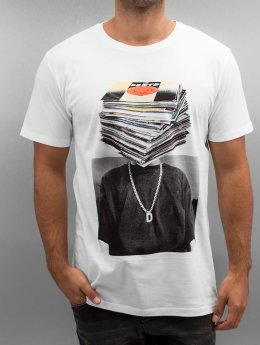 DEDICATED T-Shirt Nicklas Johnson Record Head weiß
