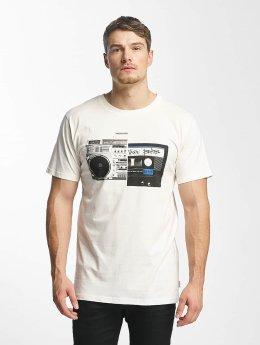 DEDICATED T-Shirt Tape Split weiß