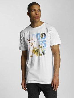 DEDICATED T-Shirt GVO Palms white