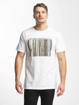 DEDICATED Tričká Vinyl Collection biela