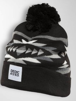 DEDICATED Winter Hat Jacquard Arizona black