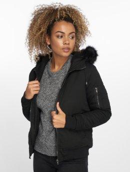 DEF Зимняя куртка Bomber черный