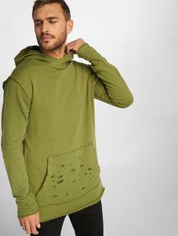 DEF Bluzy z kapturem Ulle oliwkowy