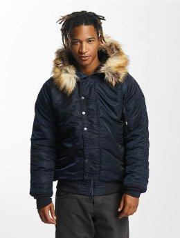 DEF Bomber jacket Haakon blue