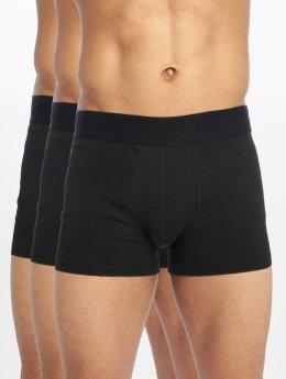 DEF Boxershorts 3er Pack schwarz