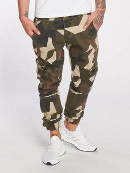 DEF Männer Cargohose Kliv in camouflage