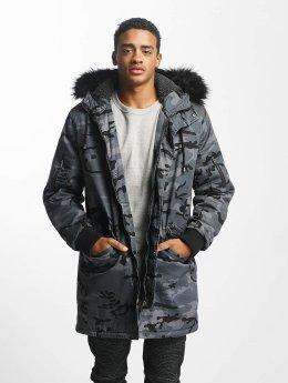 DEF Chaqueta de invierno Bomber camuflaje