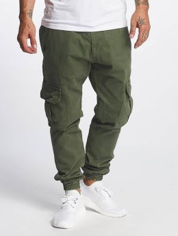 DEF Chino bukser Kindou oliven