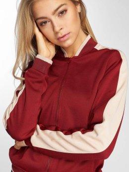 DEF College Jackets Silija czerwony