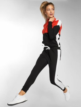 DEF Quad Jump Suit Red Black