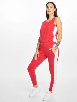 DEF Bat Jumpsuit Red