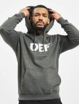 DEF Hoodies Til Death šedá