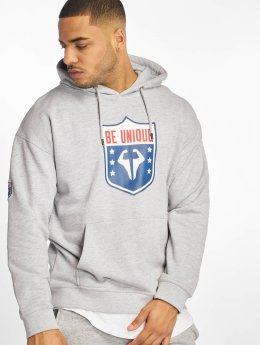 DEF Hoodies  beUNIQUE Hoody Grey Mela...
