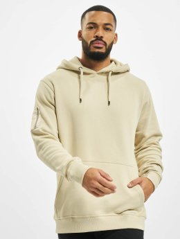 DEF Hoodies Upper Arm Pocket beige