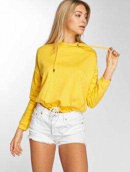 DEF Frauen Hoody Lea in gelb