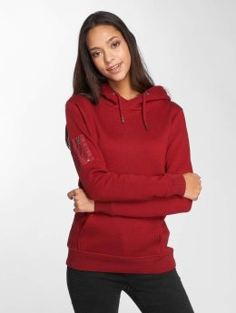 DEF Hoody Upper Arm Pocket rood