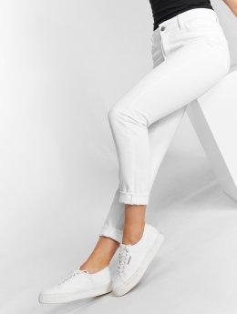 DEF | Swoop blanc Femme Jean taille haute