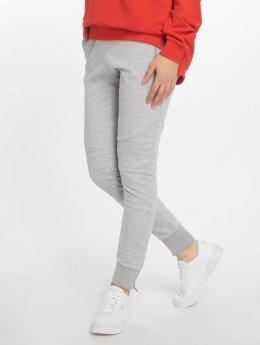DEF Jogging kalhoty Quilted  šedá