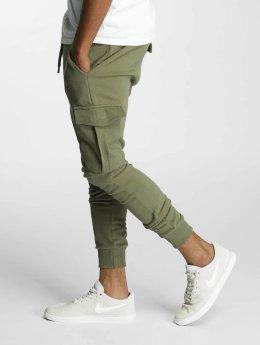 DEF Jogging kalhoty Gringo olivový