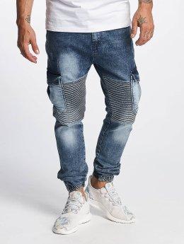 DEF joggingbroek Cargo blauw