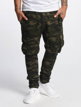 DEF joggingbroek Cargo camouflage