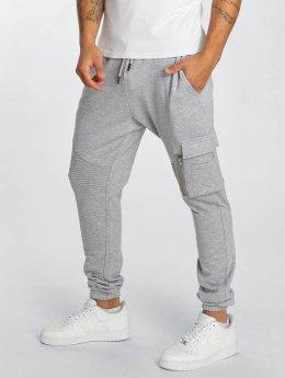 DEF joggingbroek Frame grijs