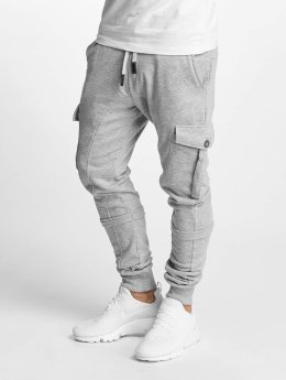 DEF joggingbroek Soft Cargo grijs