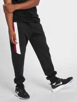 DEF Cuppy Sweat Pants Black Red